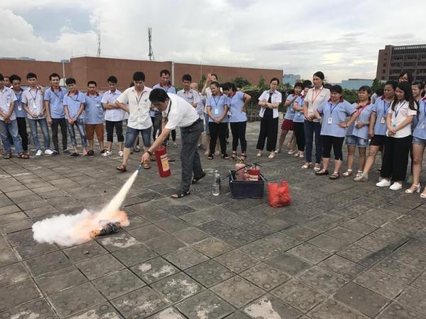 2017消防演练