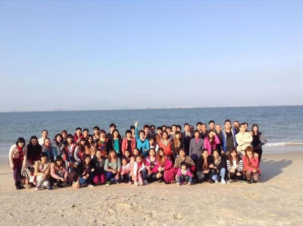 2013惠州金沙海滩