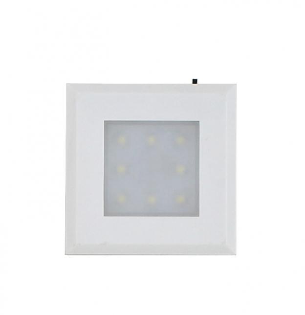 方形LED感应灯